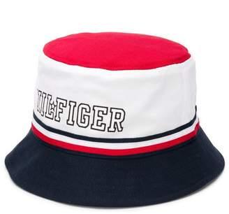 Tommy Hilfiger Junior contrast logo sun hat