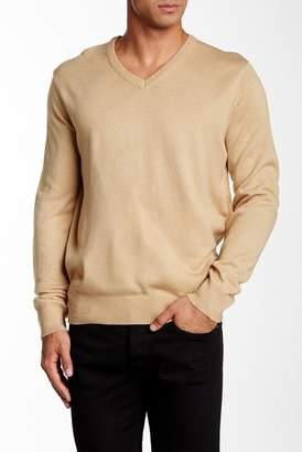 Yoki V-Neck Pullover Sweater