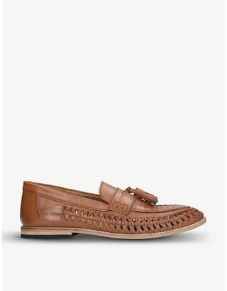 552f21d0d45 Kurt Geiger London Nice woven leather loafers
