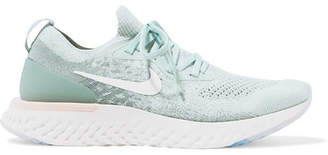 Nike Epic React Flyknit Sneakers - Green