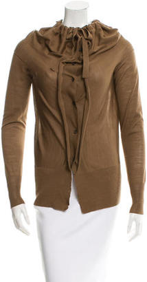 Vera Wang Wool Knit Cardigan $85 thestylecure.com
