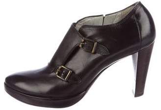 CNC Costume National Monk Strap Booties