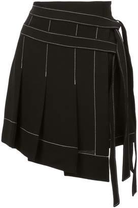 Cinq à Sept asymmetric short skirt