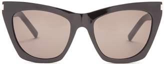 Kate square cat-eye frame acetate sunglasses