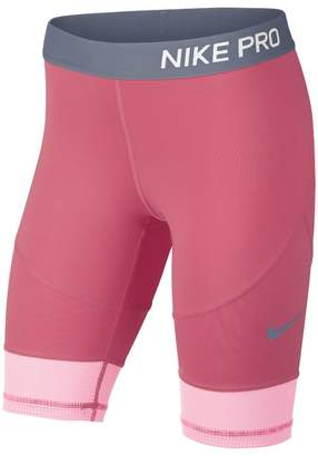 Nike Pro Older Kids'(Girls') Training Half Tights