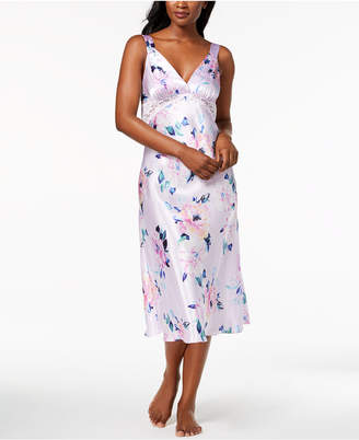 Thalia Sodi Floral-Print Lace Nightgown, Created for Macy's