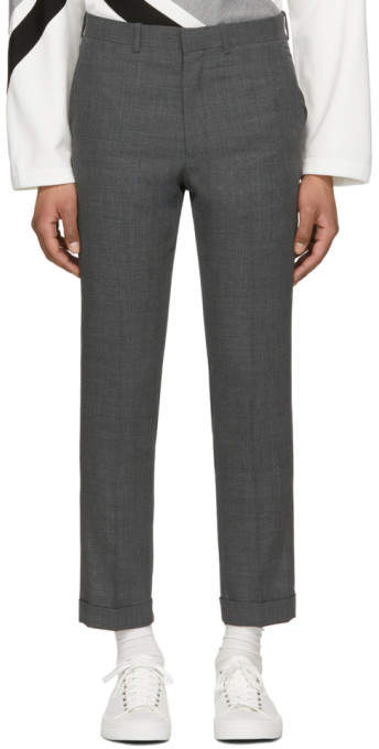 N.hoolywood Grey Compile Trousers