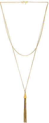 Vanessa Mooney X REVOLVE Double Chain Tassel Necklace
