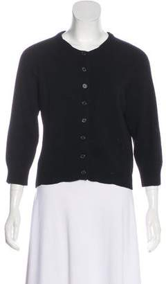 Marc Jacobs Wool & Cashmere-Blend Cropped Cardigan