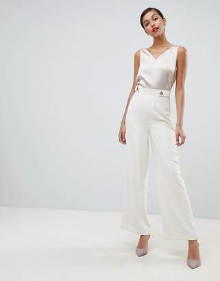 Coast Eyelet Wide Leg PANTS