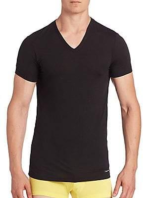 Calvin Klein Underwear Men's V-Neck Short Sleeve Tee