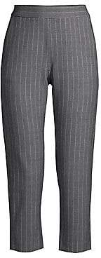 Piazza Sempione Women's Pinstripe Pants