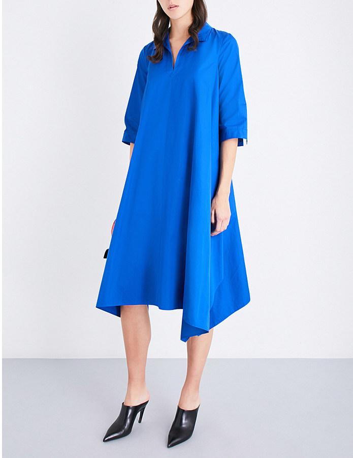 Max MaraMax Mara Liriche cotton-poplin shirt dress