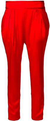 Givenchy drop crotch cropped trousers