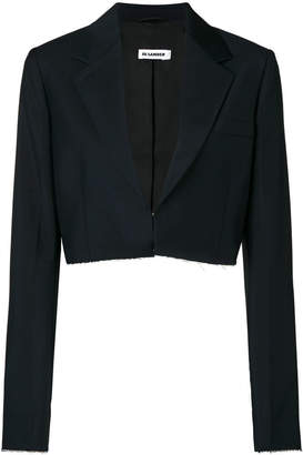 Jil Sander cropped fitted jacket