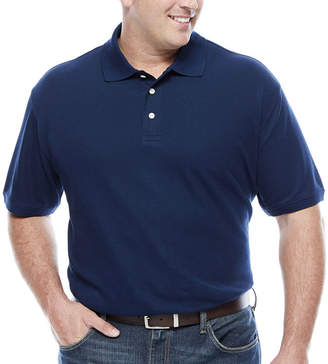 Co THE FOUNDRY SUPPLY The Foundry Big & Tall Supply Short Sleeve Easy Care Polo