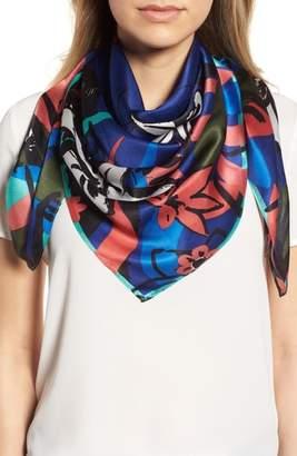 Halogen Print Silk Scarf
