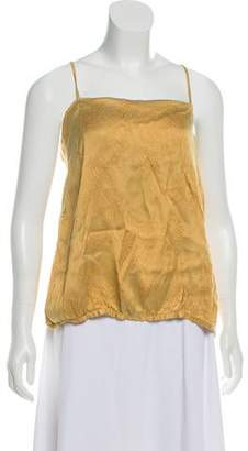 Dries Van Noten Silk Sleeveless Top