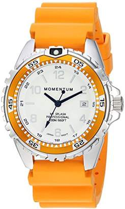 Momentum Women's Quartz Watch | M1 Splash by Momentum| Stainless Steel Watches for Women | Dive Watch with Japanese Movement & Analog Display | Water Resistant Ladies Watch with Date –Lume/ Rubber