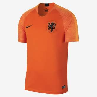 Nike 2018 Netherlands Stadium Home Men's Soccer Jersey