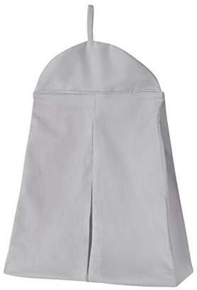 JoJo Designs Sweet Solid Gray Girl or Boy Gender Neutral Diaper Stacker Storage Organizer