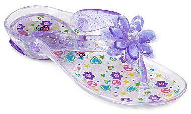 JCPenney Okie Dokie Jess Purple Jelly Girls Shoes