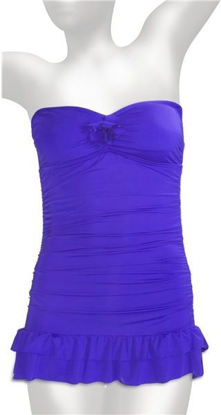 Kenneth Cole Reaction Bandeau Swimdress Swimsuit (For Women)