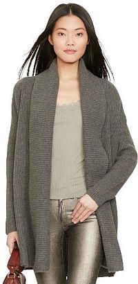 Polo Ralph Lauren Wool-Cashmere Shawl Cardigan $498 thestylecure.com