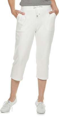 Croft & Barrow Petites' Extra Soft Pull-On Capri Pants
