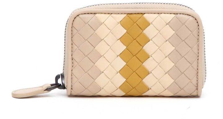 Bottega VenetaBottega Veneta Mini Wallet Intrecciato Nappa Club