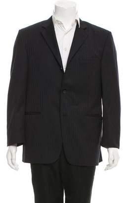 Burberry Wool Three-Button Blazer