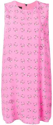 Moschino piercing print dress