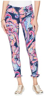 Lilly Pulitzer UPF 50+ Luxletic Marla Weekender Midi Leggings Women's Casual Pants