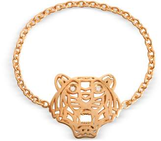 Kenzo Rose Gold Plated Mini Tiger Ring