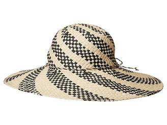 San Diego Hat Company PBL3089OS Spiral Woven Paper Sun Brim