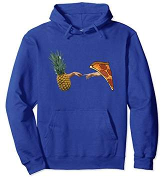 Pineapple on Pizza Creation of Masterpiece Pullover Hoodie