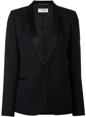 Saint Laurent shawl lapel blazer