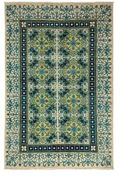 Suzani Collection Oriental Rug, 6'1 x 9'3