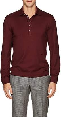 Massimo Alba Men's Cotton-Cashmere Polo Shirt