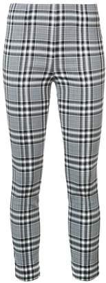Veronica Beard plaid print leggings
