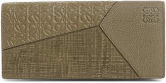 Loewe Long Puzzle Bifold Leather Wallet