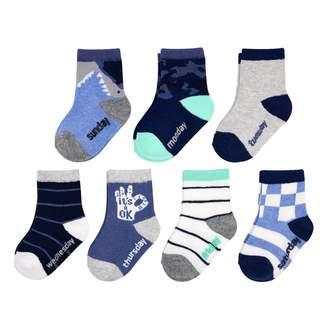 Osh Kosh Oshkosh Bgosh Baby / Toddler Boy 7-pack Shark Crew Socks