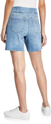 NYDJ Wide-Leg Split-Hem Pull-On Shorts