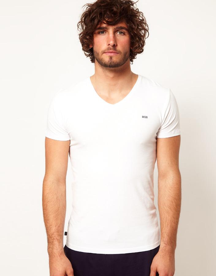 Diesel Michael V Neck T-Shirt