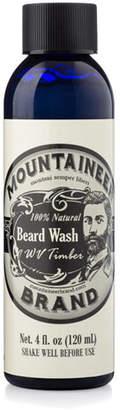 Mountaineer Brand Beard Wash - WV Timber, 4 oz. / 120 ml