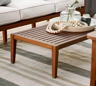 Pottery Barn Outdoor Coffee Side Tables ShopStyle - Pottery barn colette coffee table