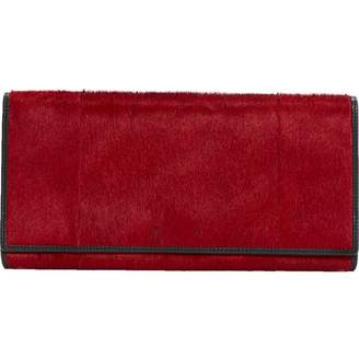 JOOP! Red Pony-style calfskin Clutch Bag