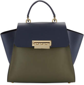 Zac Posen Eartha Iconic Colorblock Top Handle Bag
