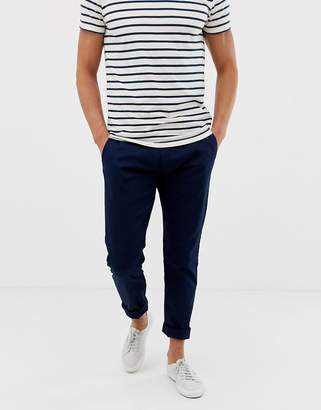 J.Crew Mercantile slim fit stretch chino in navy