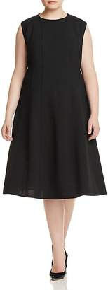 Lafayette 148 New York Plus Marley Fit-and-Flare Dress